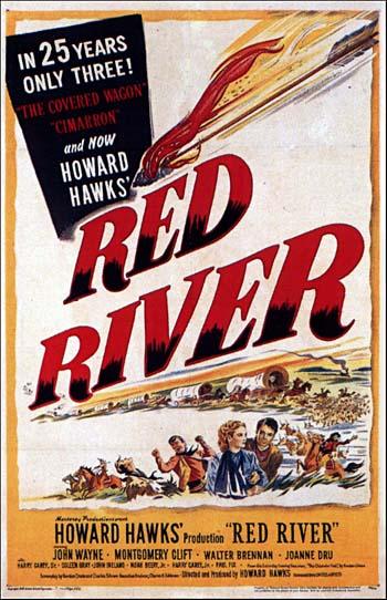 CineScope - Affiche - La Rivière Rouge - Red River - 1948
