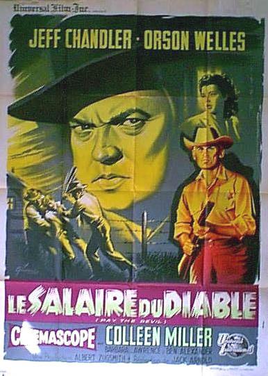 CineScope - Affiche - Le Salaire du Diable - Man in the Shadow - 1957